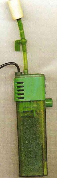 кран с распылителем на инжекторе внешнего фильтра